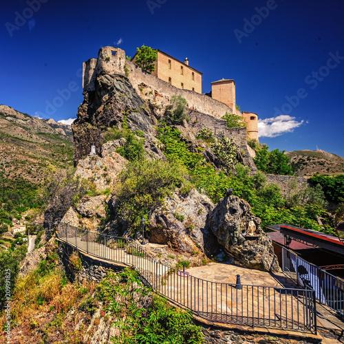 Fotografie, Obraz  The Citadel of Corte