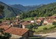 Spain, National park of los Picos de Europa, Mogrovejo village, Way of St James
