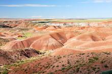 USA. Arizona. Painted Desert. ...