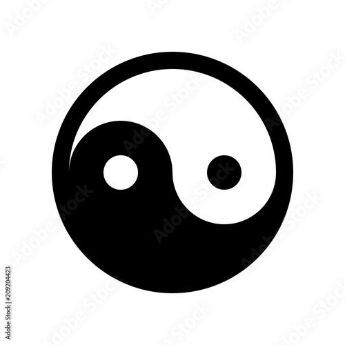 Fotografie, Obraz  yin yang