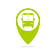 Shool bus tracking icon