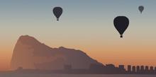 Montgolfière - Gibraltar - Ro...