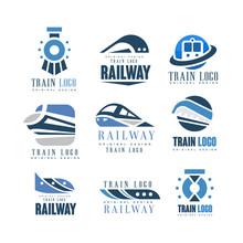 Train Logo Original Design Set...