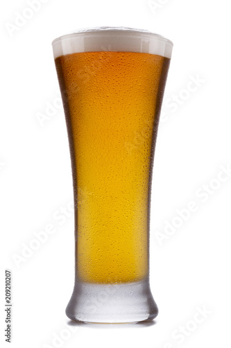 A refreshing glass of Indian Pale ale Poster
