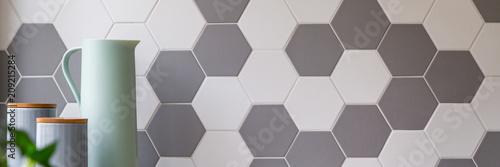 Fototapeta Honeycomb wall tiles obraz