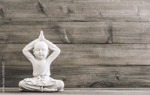 Sitting buddha Yoga Meditation Relaxation