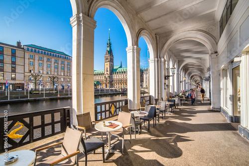 Foto auf AluDibond Europäische Regionen Hamburg - Germany