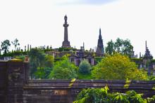 Glasgow Necropolis (cemetery) In Front Of Glasgow Cathedral, In Glasgow, Scotland