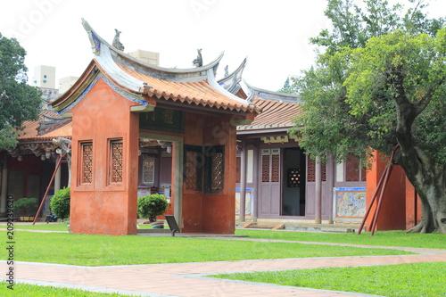 confucian temple in tainan Fototapet