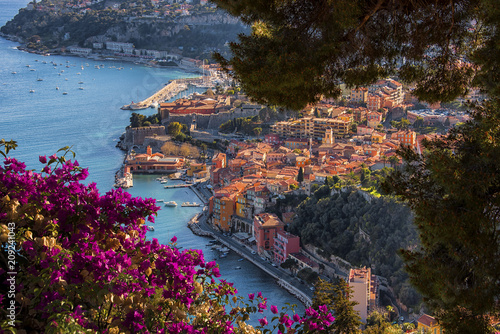 Villefranche-Sur-Mer on the French Riviera Canvas Print