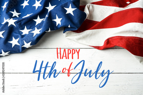 Happy 4th of July - Independence Day Fototapeta