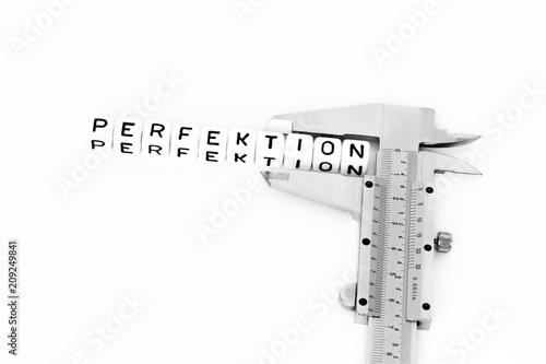 Fotografía  Perfektion mit einem Messschieber
