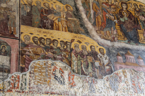 Canvas-taulu Rock Church of Sumela monastery