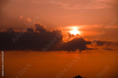 Plakát  Sonnenuntergang