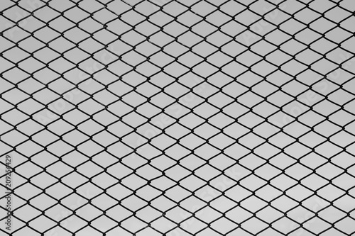 Valokuva pattern of steel grating - monochrome background