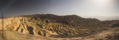 In de dag Centraal-Amerika Landen Zabriskie Point, Death Valley, USA