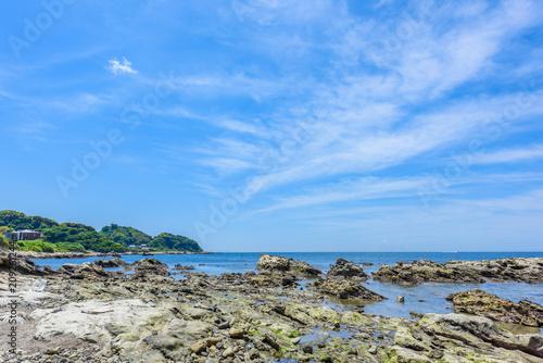 Staande foto Zee / Oceaan 海岸沿いの岩場 Rocky coast