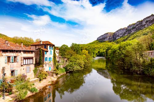 Fotografie, Obraz Saint Antonin noble val, Tarn, Midi-Pyrénées, Occitanie, France