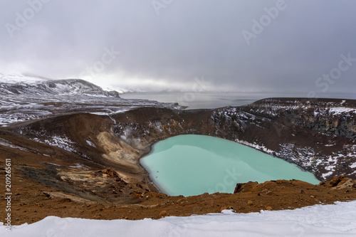 Viti crater Iceland Poster Mural XXL