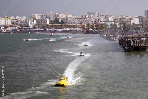 Foto op Plexiglas F1 fast powerboat racing