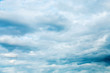 sky white blue clouds blue space