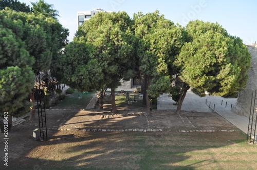 Keuken foto achterwand TheMedieval CastleofLarnaca (Larnaka)in Cyprus