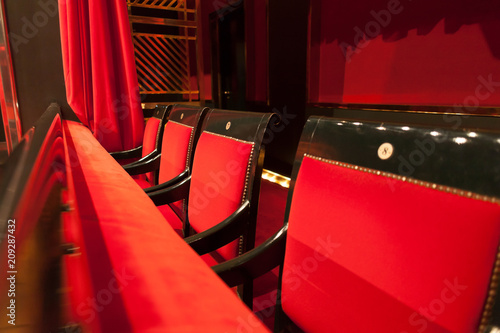 Foto op Canvas Theater vip theater seats