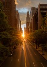 Manhattanhenge When The Sun Se...