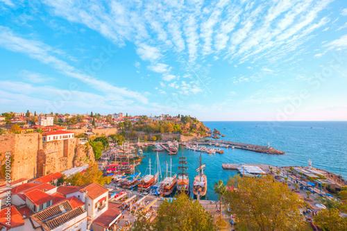 Poster Turquie Old town (Kaleici) in Antalya, Turkey