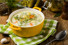 Traditional Cucumber Soup With...
