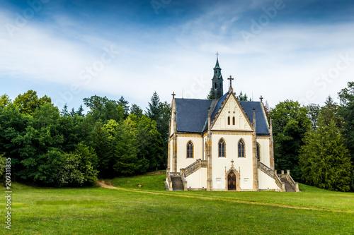 Schwarzenberg tomb near castle Orlik - Czech republic Poster
