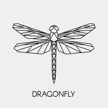 Abstract Polygonal Dragonfly. ...