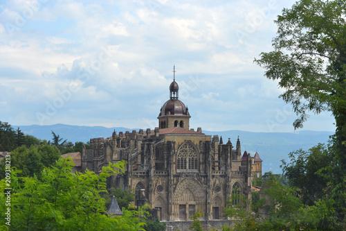 Canvas Print Abbaye de St Antoine Vercors, près de Pont en Royans, Vercors, France