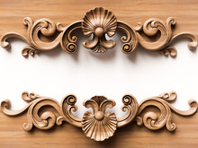 Wooden Ornament Background