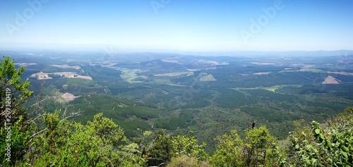 Fotobehang Blauwe hemel Wonder view Blyde River Canyon route