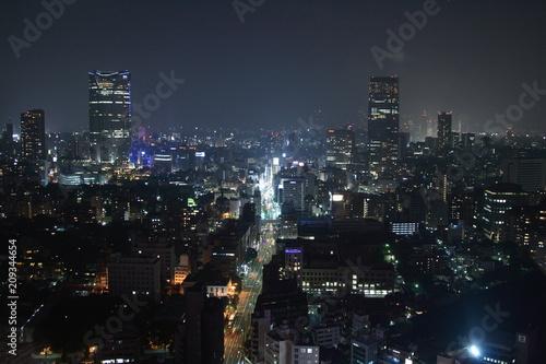 Aluminium Prints Los Angeles 東京の夜景
