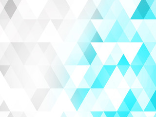 Colored triangle textured background
