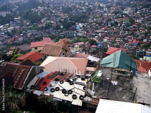 Aerial view of the entire Baguio City