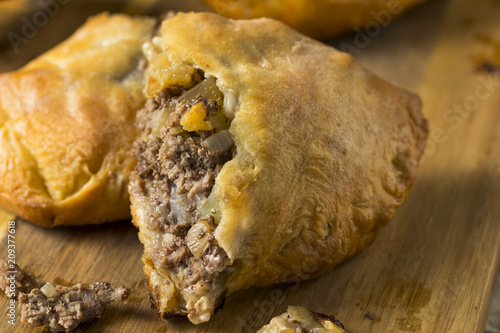 Homemade Upper MIchigan Pasty Meat Pie Canvas Print
