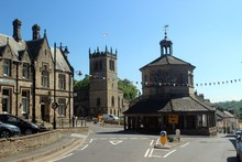 The Market Cross, Barnard Castle, County Durham.
