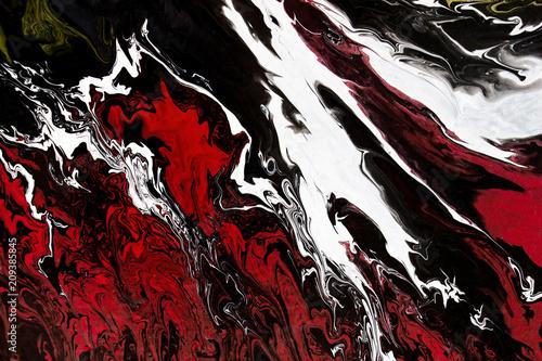 abstrakcyjny-czarny-plynny-obraz-akrylo