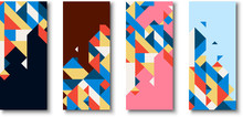 Backgrounds With Abstract Colo...