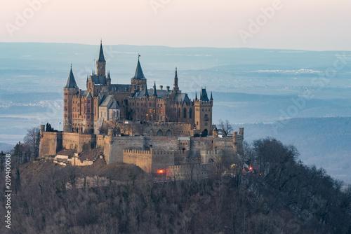 Cuadros en Lienzo Die Burg Hohenzollern