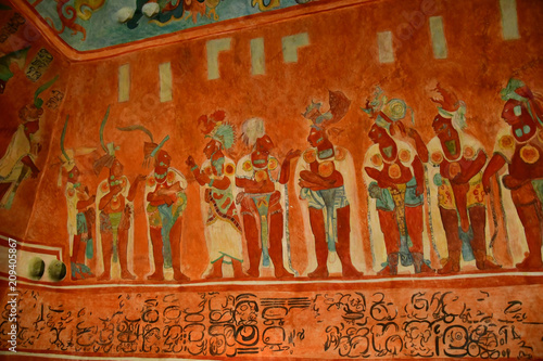 Mexico;  United Mexican State - may 13 2018 : anthropology museum Wallpaper Mural