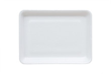 White Food Tray Made From Poly...