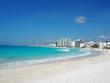 the beach in Cancun