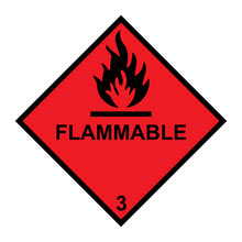 Flammable Diamond With Flames ...