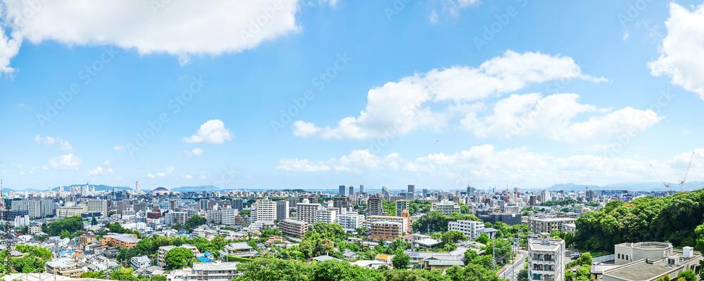 Fototapety, obrazy: 福岡市 街並み