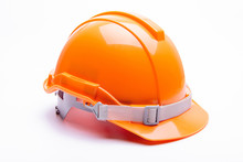 Orange Safety Helmet Construct...