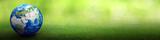 Planet Earth world football concept